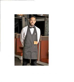 V neck Tuxedo style Aprons- APN500JF